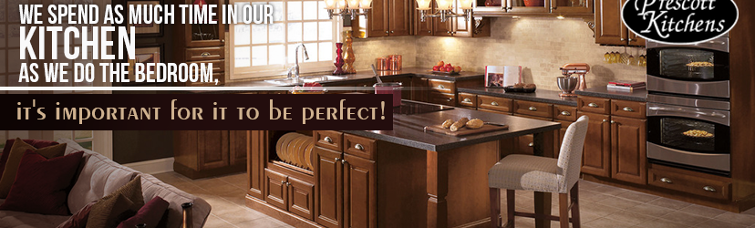 We spend as much time in our kitchen as we the bedroom. It's important for it to be perfect.
